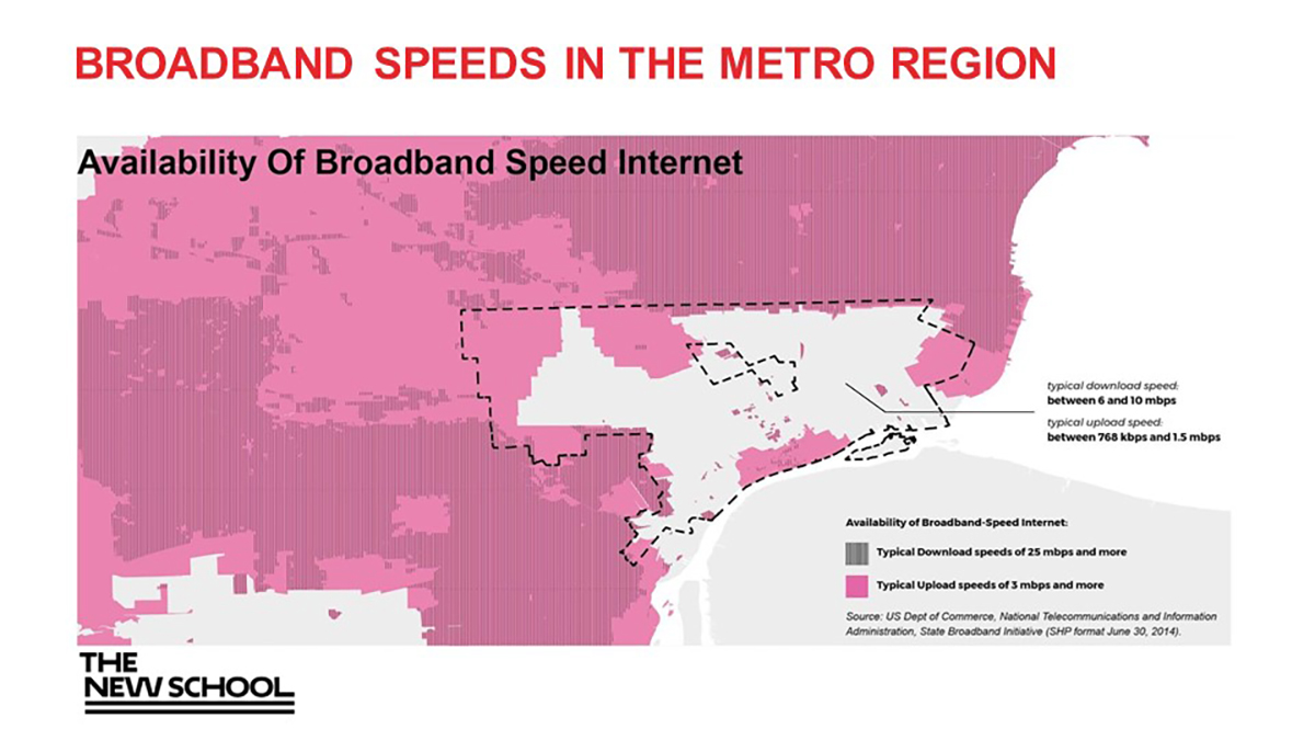 Digital Distress Affordable Internet An Equity Issue In Michigan - Us internet speed map