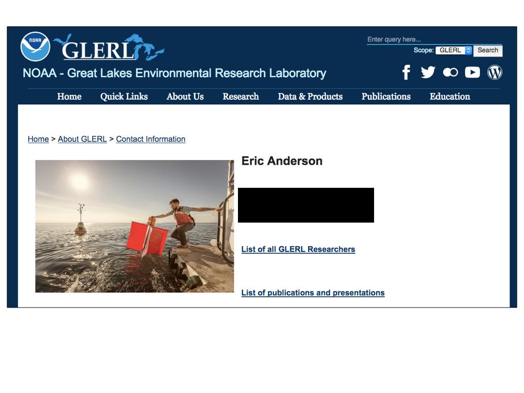 NOAA screen capture