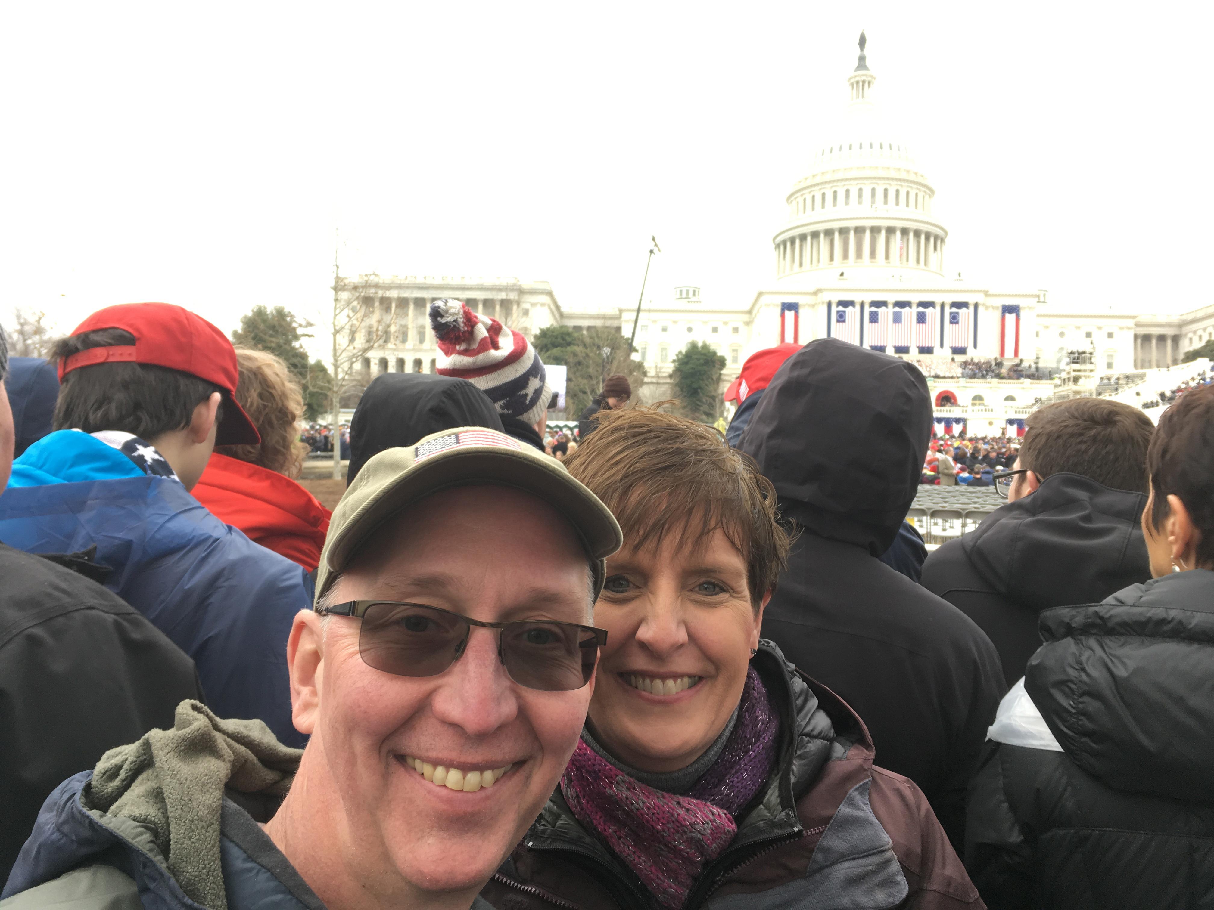Herbon at inauguration