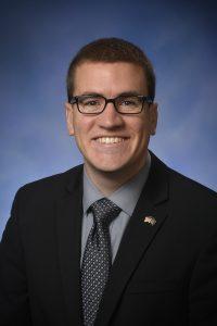 State Rep. Aaron Miller R-Sturgis