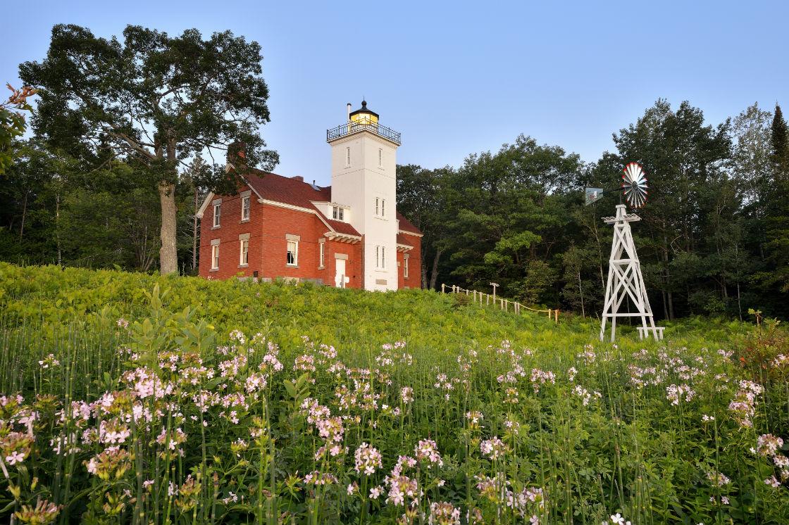 Rogers City Michigan lighthouse