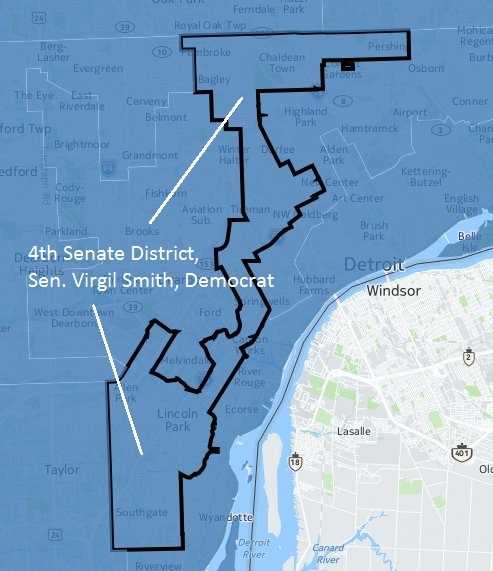 4th senate map