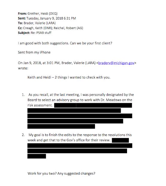 Emails cast doubt about Michigan's ties to Enbridge in Line 5 debate