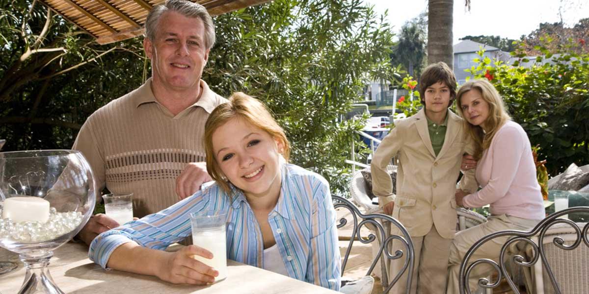 affluent family