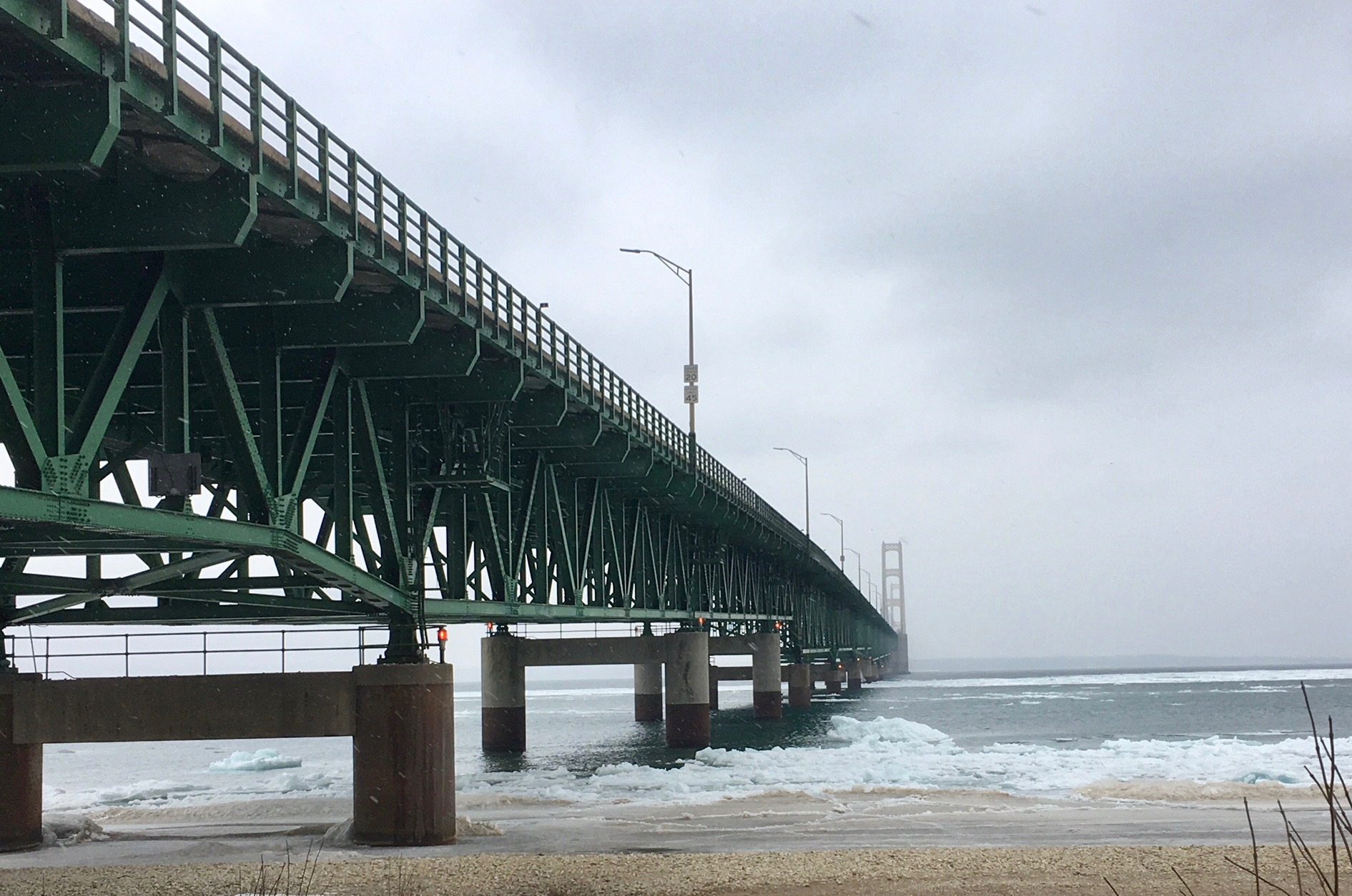 Mackinac Bridge April 2018