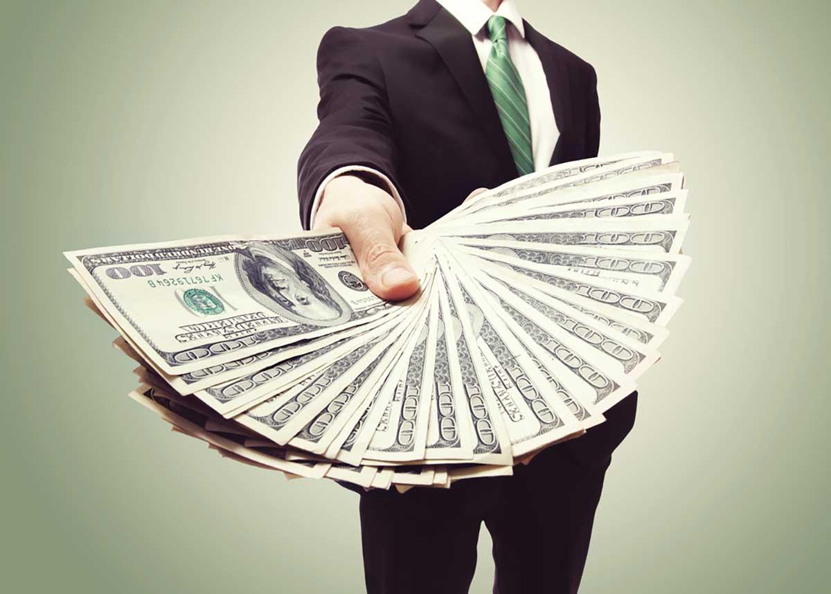 business spending money