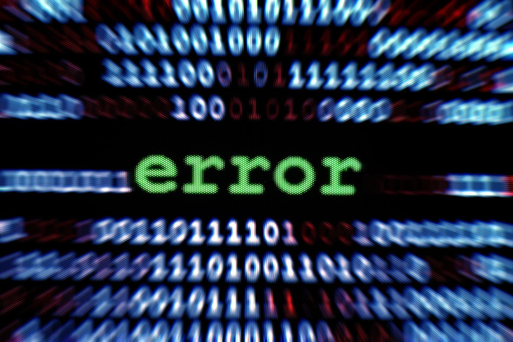 computer error