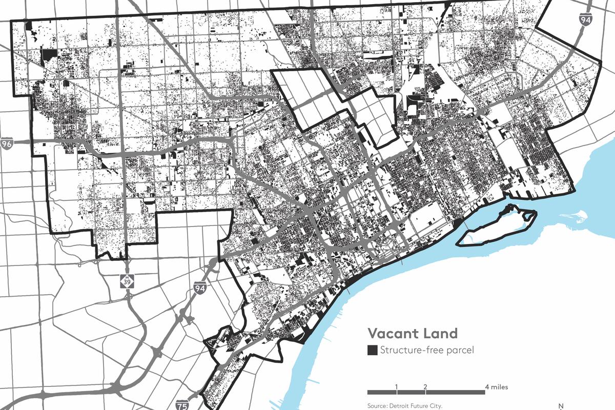 detroit vacant land