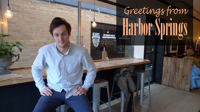 Greetings From Harbor Springs postcard