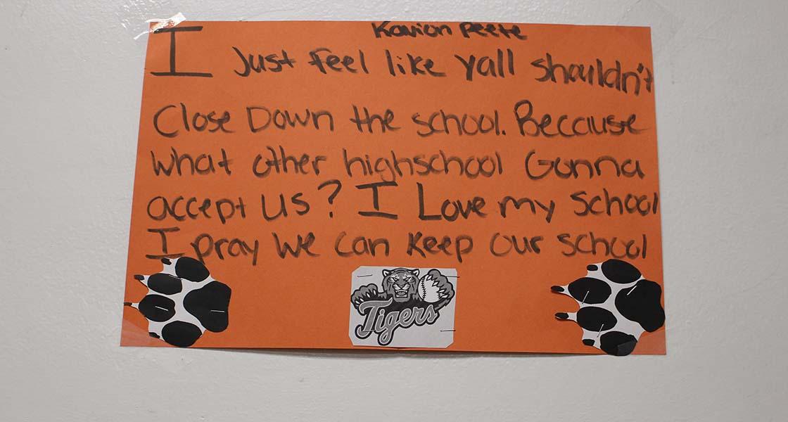 Benton Harbor high school poster