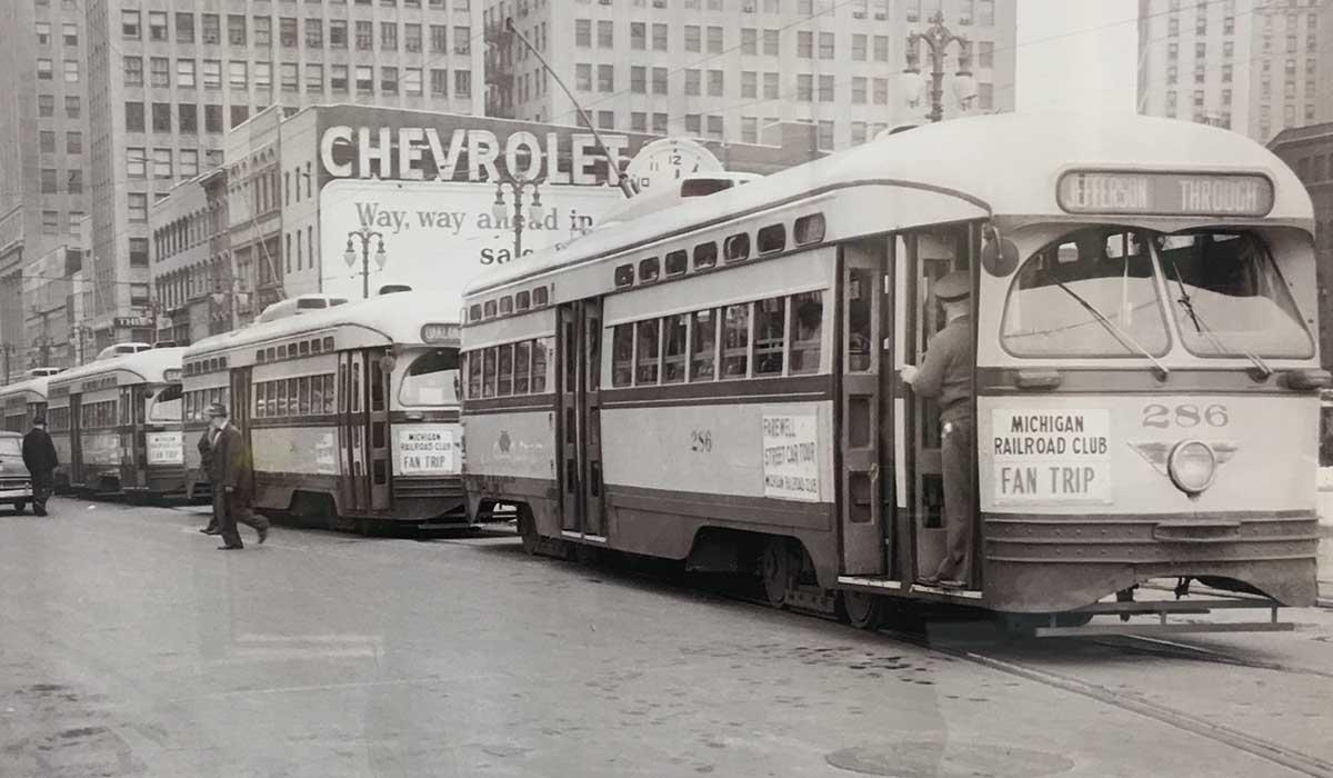 historic detroit streetcar