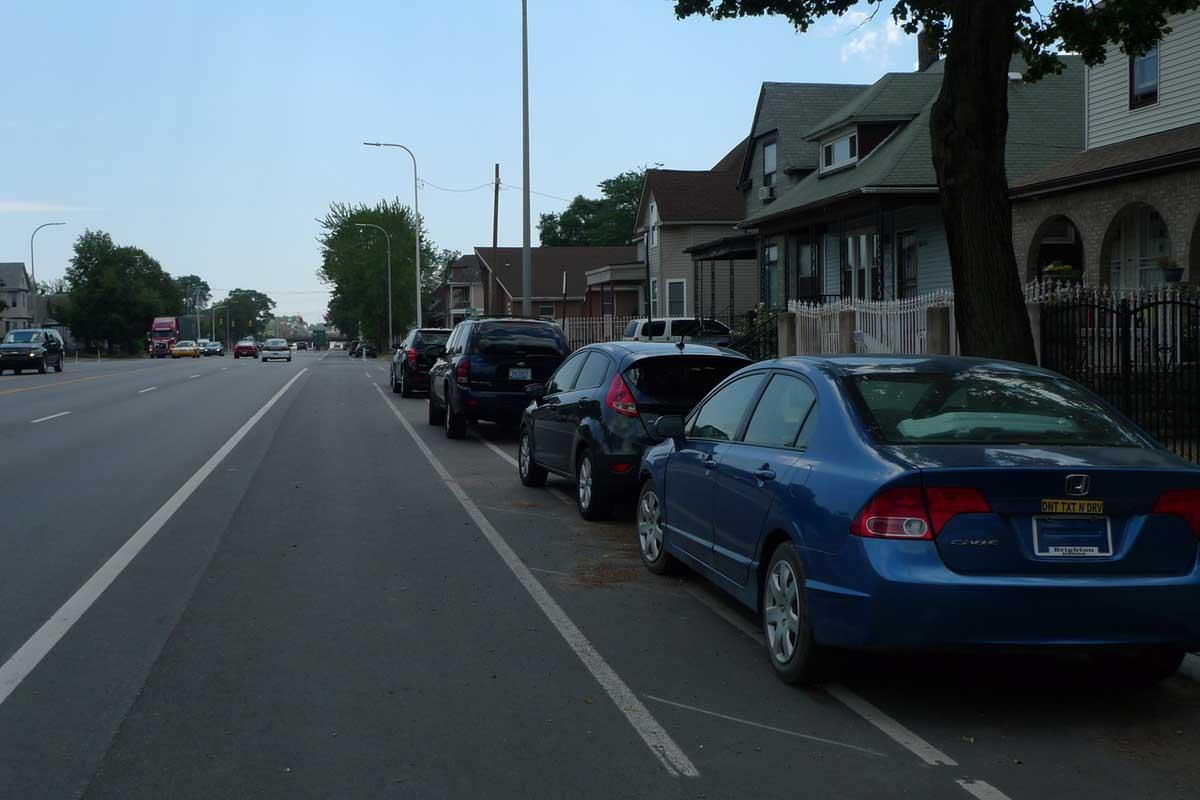 incorrect bike lane