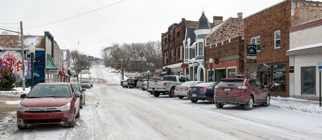 Downtown Iron Mountain, Michigan