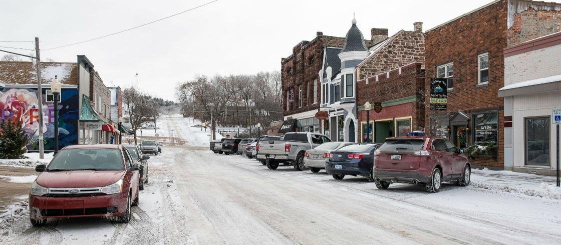 Downtown Iron Mountain, Michigan