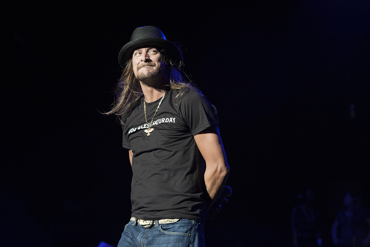 Kid Rock performing