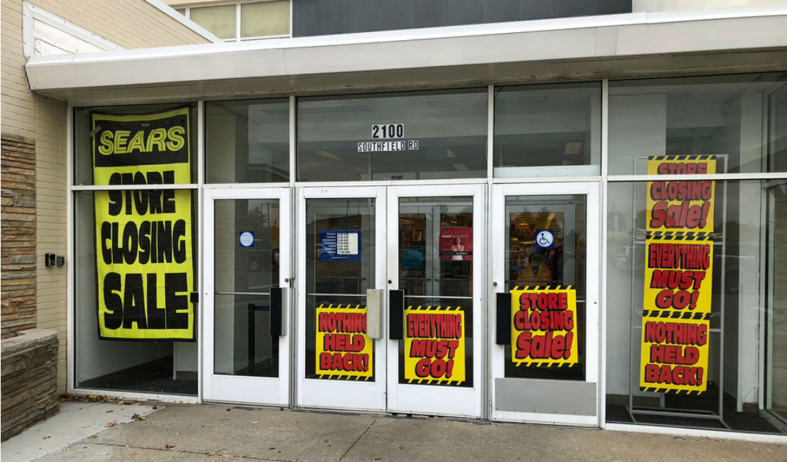 Store closing in Lincoln Park, Michigan