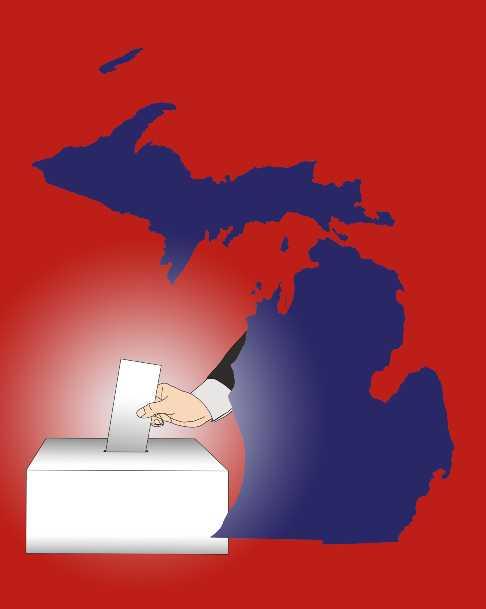 2020 Michigan Election Results Voting Polls Joe Biden Donald Trump Bridge Michigan