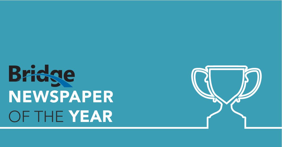 Bridge wins newspaper of the year