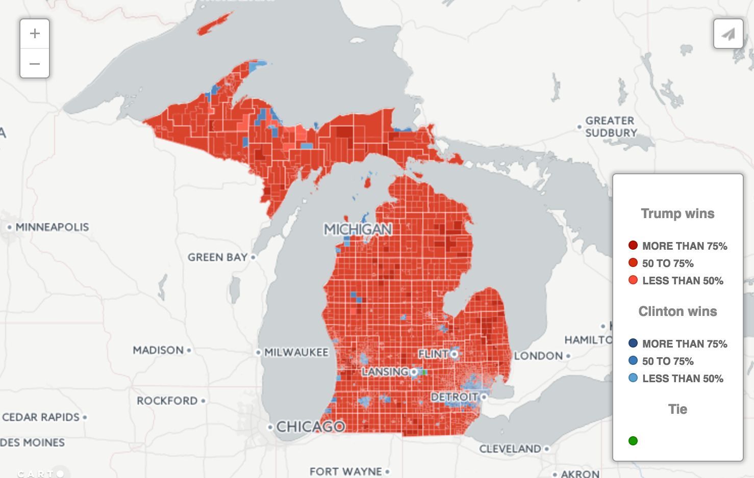 Saginaw Mi Zip Code Map.Interactive Map What Political Bubble Do You Live In Bridge Magazine