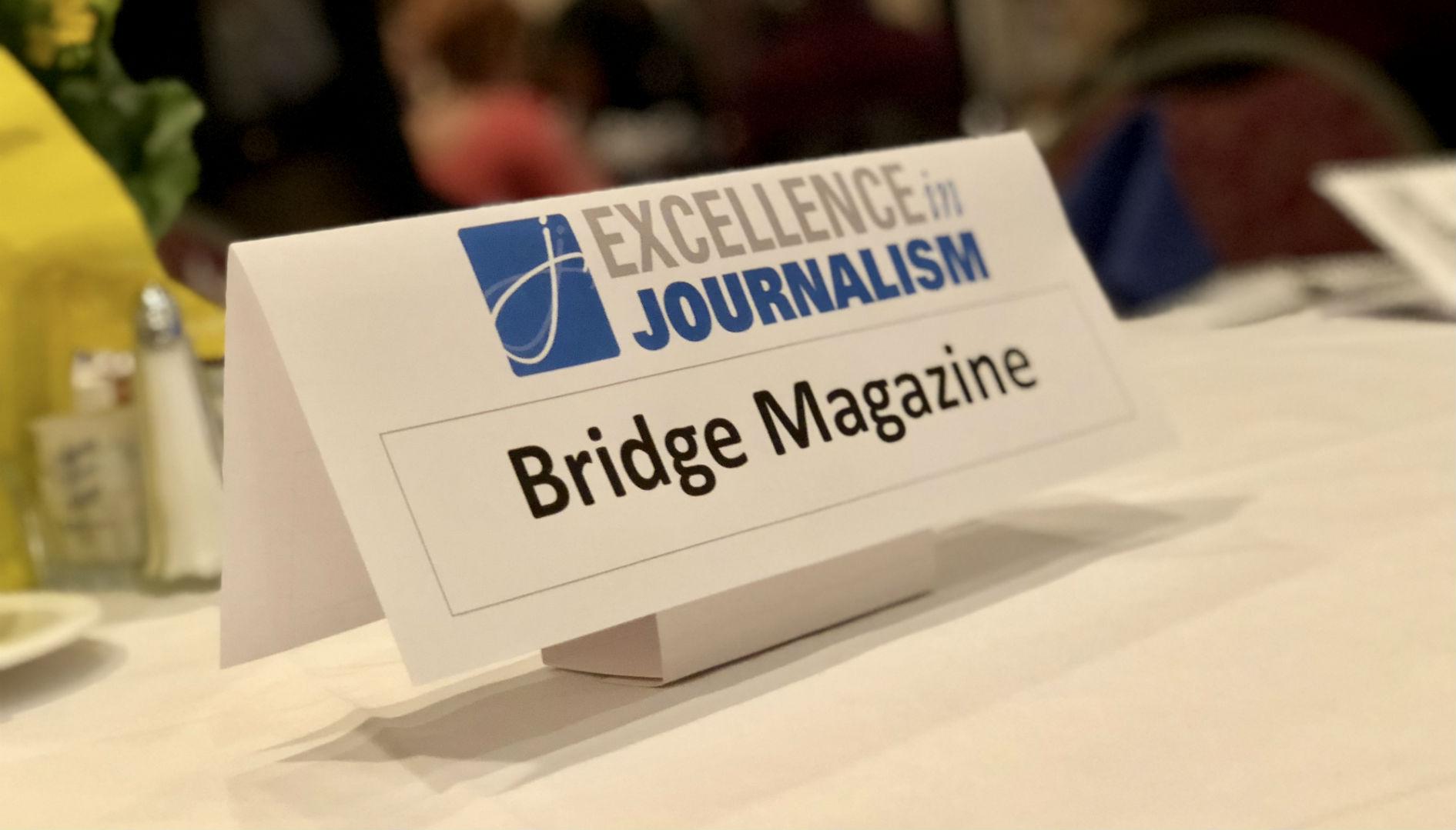 SPJ Excellence in Journalism - Bridge