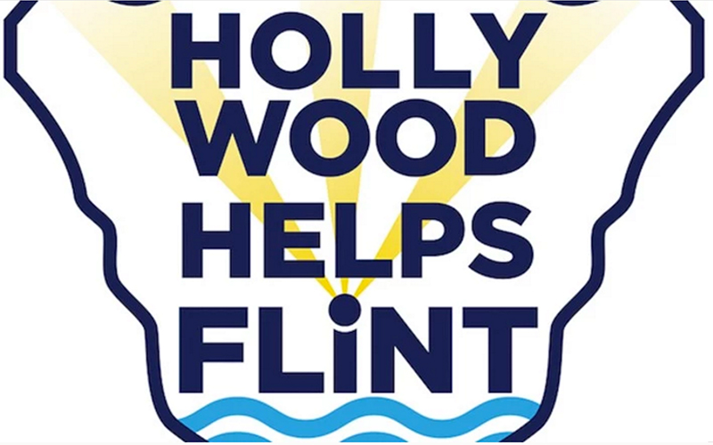 Hollywood Helps Flint logo