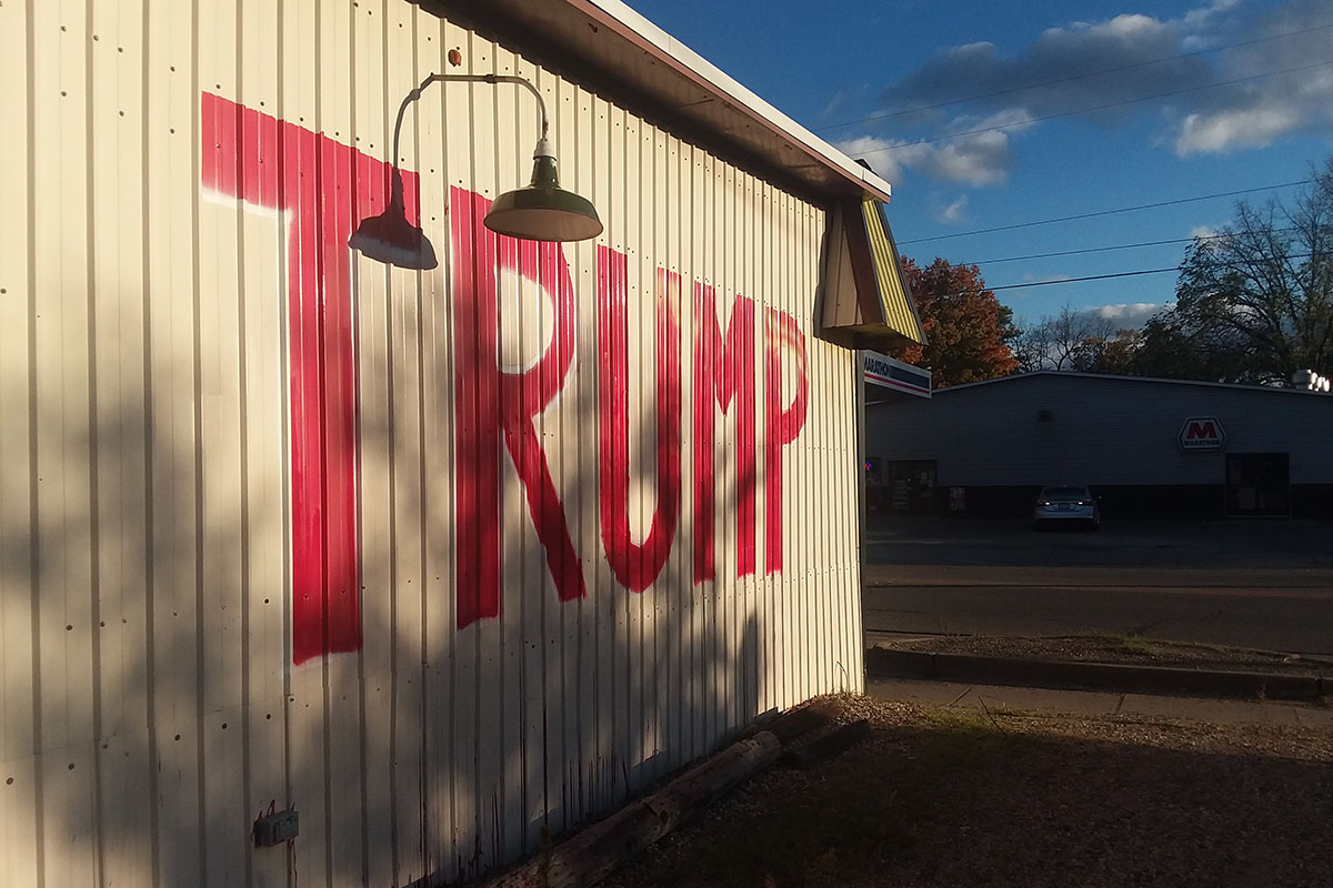 Yes, Michigan has many problems  But let's talk Trump