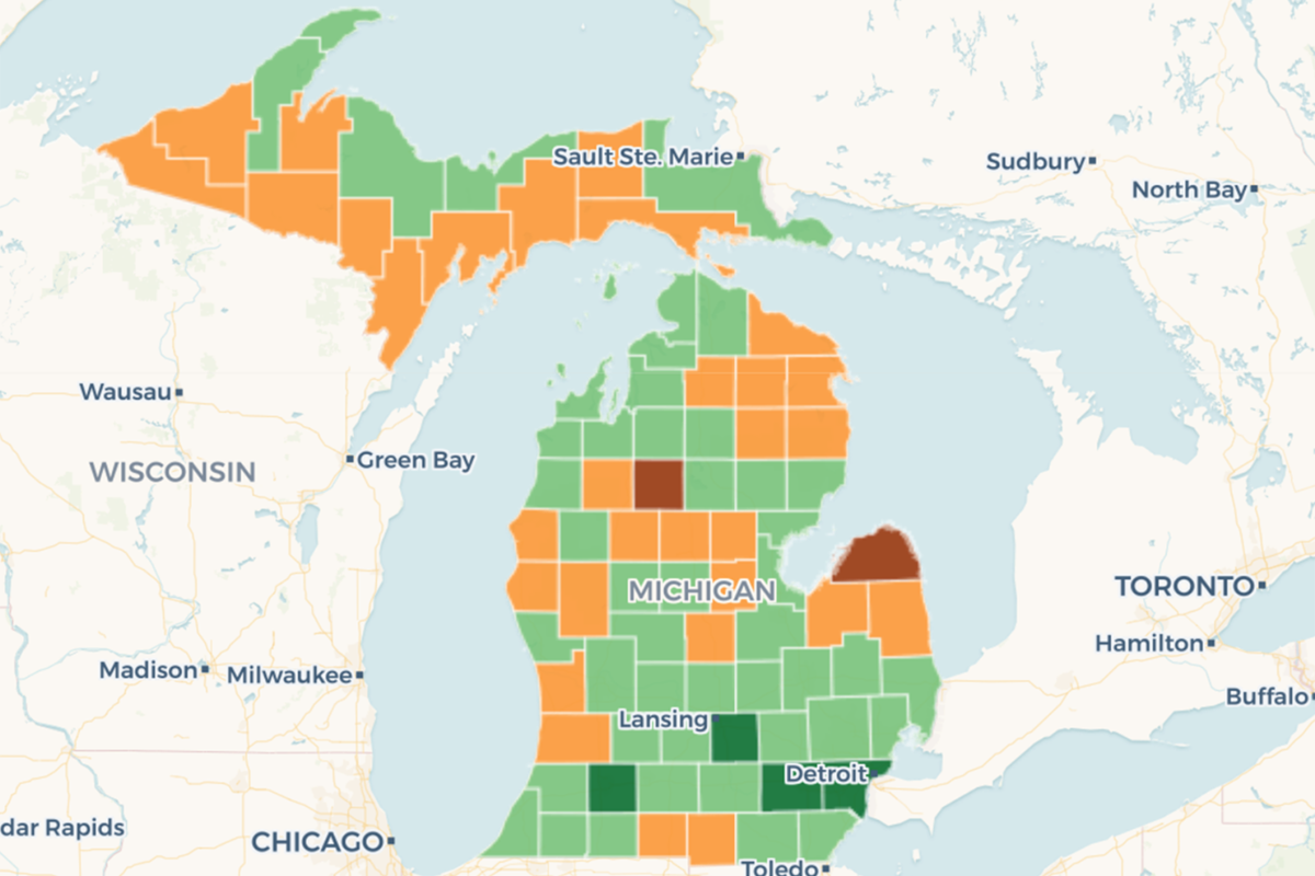 You Ll Never Guess Which Michigan Counties Loved Weed Kidding You