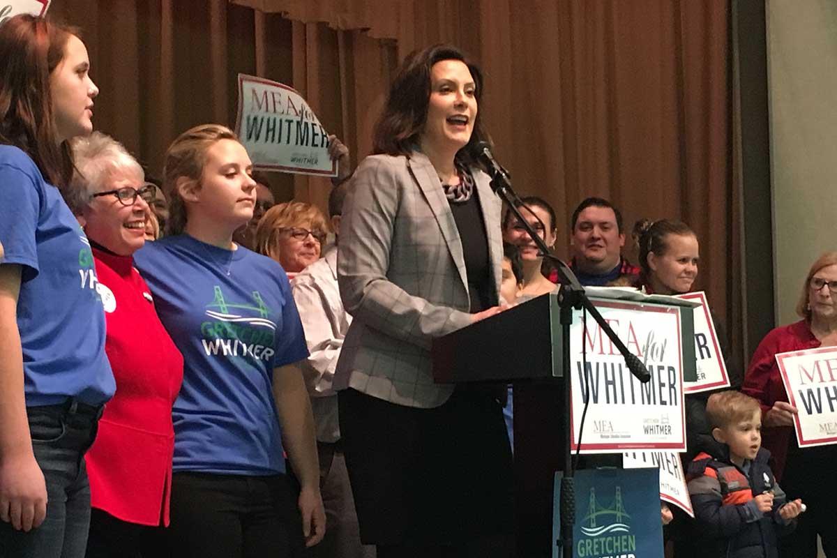 Detroit Dems seek alternative to Gretchen Whitmer in