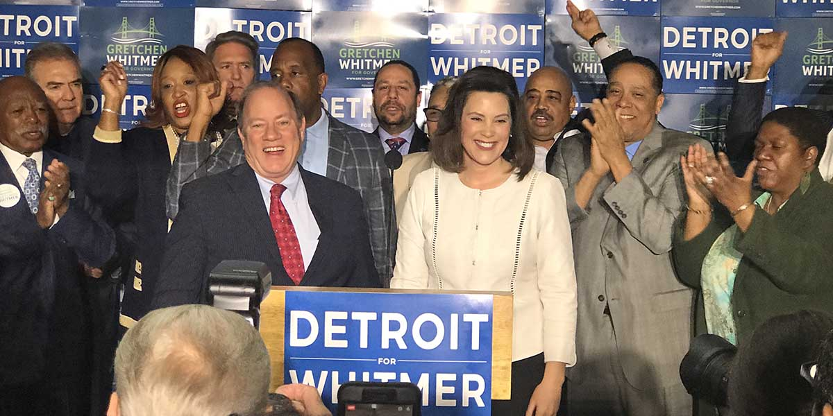 LeDuff: After Wavering, Mike Swallows Hard and Endorses Whitmer For Governor