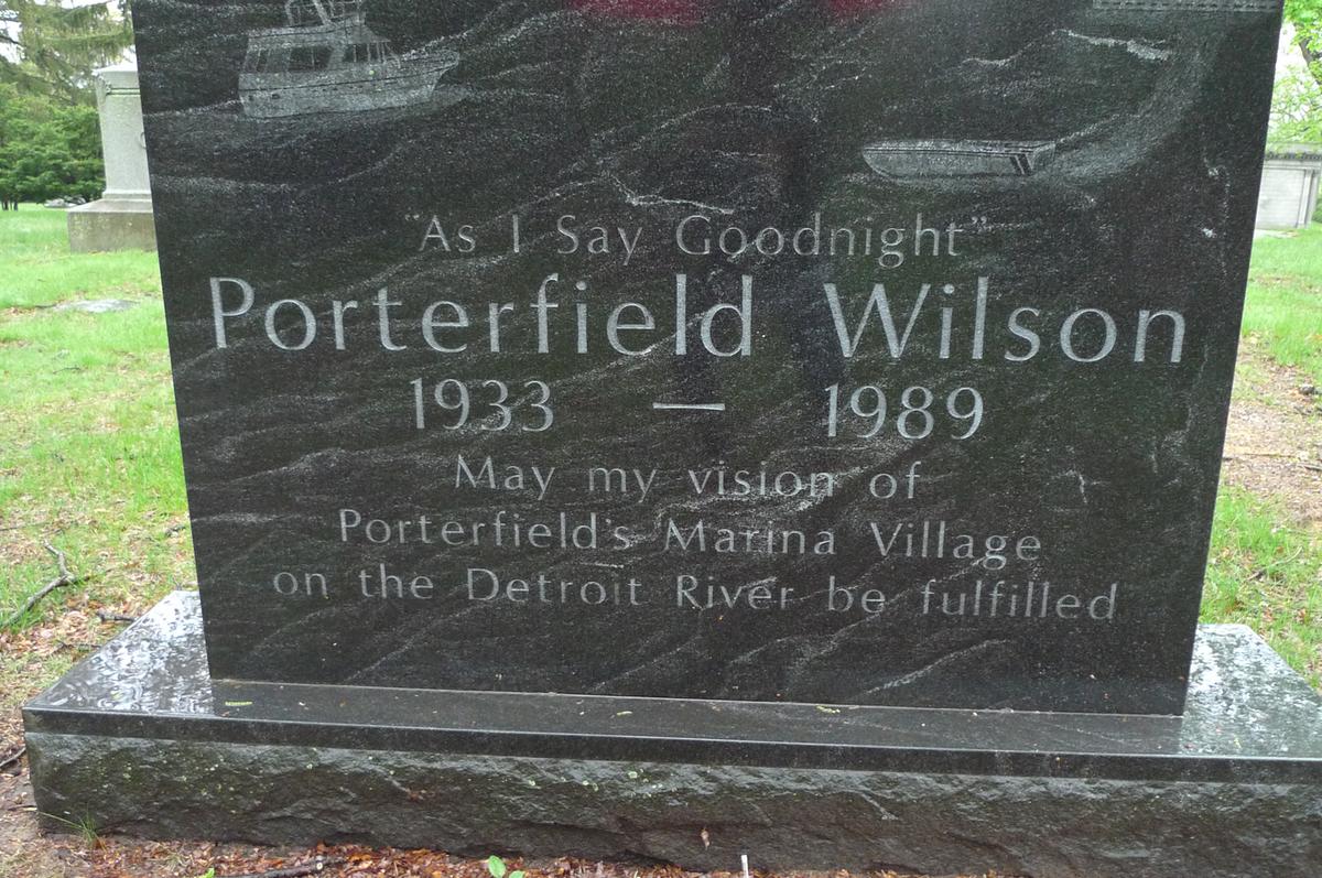 Wilson headstone