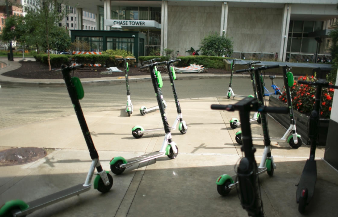 Scooters in Detroit