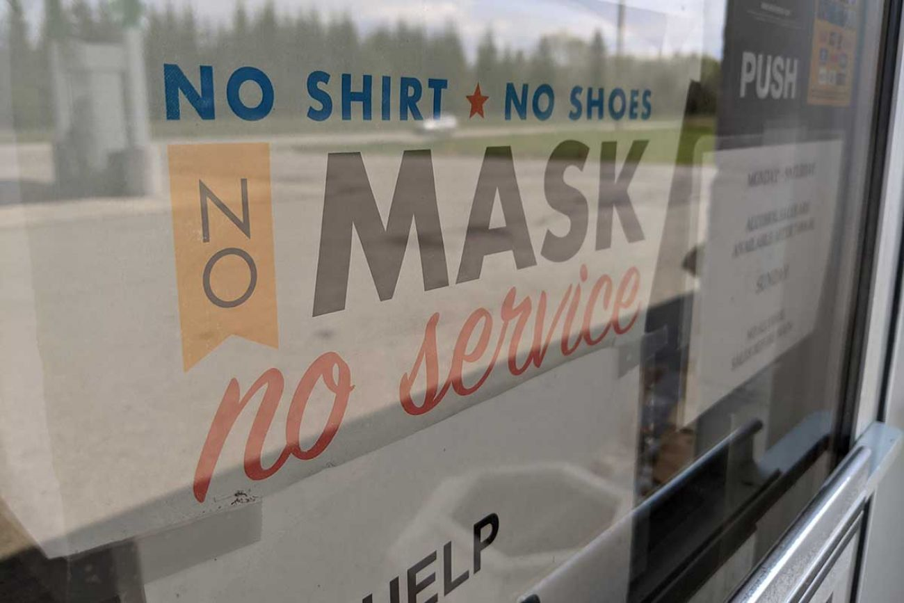 Michigan recommends masks for businesses, as fears rise of fourth COVID  wave | Bridge Michigan