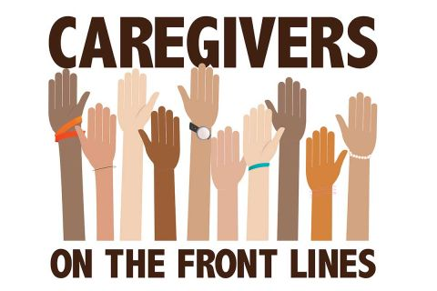 caregivers on the front line