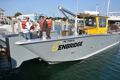 Enbridge boat