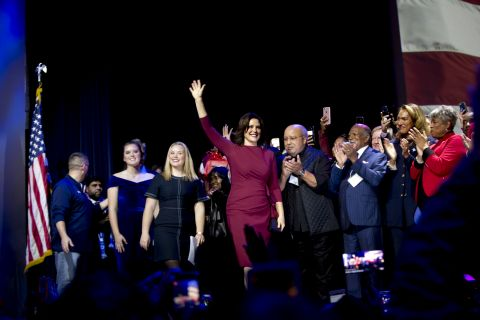 Gretchen Whitmer is winner in Michigan governor race