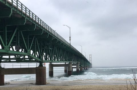 Greetings from Mackinaw City, where Line 5 fears threaten a way of life