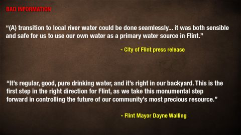 THE GOOD, THE BAD, and THE UGLY: Rating comments of public officials and experts on the Flint water crisis