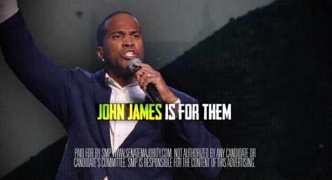 Fact Squad | Ad ties John James' environment record to Koch Brothers donations