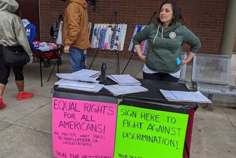 Michigan LGBT rights group files signatures for 'historic' ballot proposal