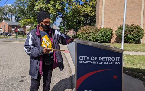 Voter turnout may surge in Detroit, spelling trouble for Trump in Michigan