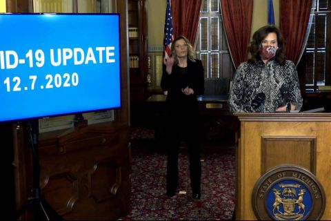 Gretchen Whitmer says Michigan COVID 'pause' will go at least 12 more days