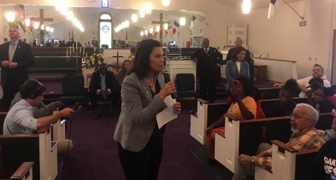 Gov. Whitmer to Benton Harbor High: Raise scores, balance books or close