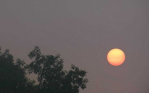 Smoke over Michigan skies as western wildfires burn