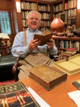 Rare book collector Ed Surovell started with little, now traces 'footprints of mankind'