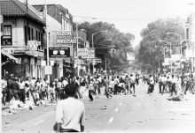 He started the Detroit riot. His son wrestles with the carnage.