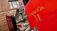 Merger bills won't change names on fire trucks -- yet