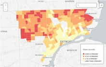 Interactive Map: Detroit water shutoffs by neighborhood