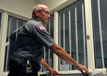 Guard knows danger lurks inside prison walls, but still loves his job
