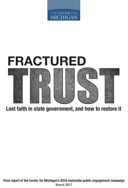 fractured trust report